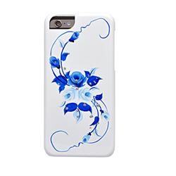 Чехол-накладка iCover для iPhone 6/6s HP Vintage Rose ручная роспись - фото 9368