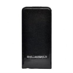 Чехол-флип Karl Lagerfeld для iPhone SE/5/5S VINYL Flip - фото 9512