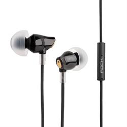 Наушники-вкладыши Rock Zircon Stereo Earphone с гарнитурой и управлением - фото 9827