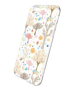 Чехол-накладка Hoco Super Star Series Painted Fairy Tale's Forest для Apple iPhone 6/6S - фото 9982