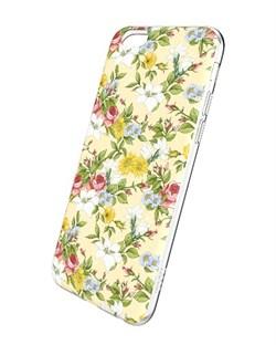 Чехол-накладка Hoco Super Star Series Painted  Rich Flowers для Apple iPhone 6/6S - фото 9984