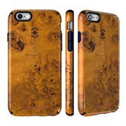 Чехол-накладка Speck CandyShell Inked для iPhone 6/6s - Jonathan Adler Edition Honeyed Burl/Berry Black Purple