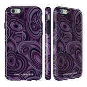 Чехол-накладка Speck CandyShell Inked для iPhone 6/6s - JONATHAN ADLER Edition MALACHITEPURPLE/BERRYBLACK GLOSSY