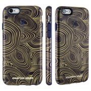 Чехол-накладка Speck CandyShell Inked для iPhone 6/6s - JONATHAN ADLER Edition Malachite Black Gold/Berry Black Purple