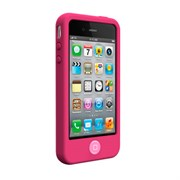 Чехол-накладка SwitchEasy Colors Fuchsia для iPhone4/4S (SW-COL4-P)