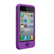 Чехол-накладка SwitchEasy Colors Viola для iPhone4/4S (SW-COL4-PU)