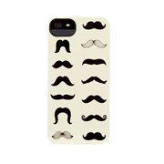 Чехол-накладка Griffin Mustachio Case для iPhone  SE/5/5s (GB35945)