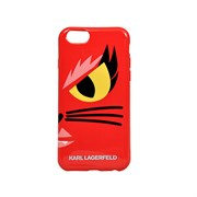 Чехол-накладка Karl Lagerfeld для iPhone 6/6S Monster Choupette Hard Red