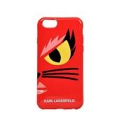 Чехол-накладка Karl Lagerfeld для iPhone 6/6S Monster Choupette Hard Red