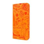 Чехол-книжка Ozaki O!Coat Travel New York case для iPhone 6/6s plus (OC585NY)