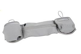 Сумка поясная для спорта Rock Multifunctional Running Belt для смартфона (Цвет: Серый)
