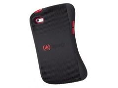Чехол-накладка Speck для iPod Touch 4 Gen (Цвет: Чёрный/Красный)