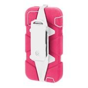 Защитный чехол-накладка Griffin для iPod Touch 4 (Цвет: Розовый/белый)