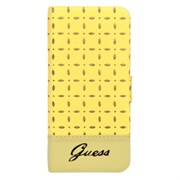 Чехол-книжка Guess для iPhone 6/6s Gianina Booktype Yellow (Цвет: Жёлтый)