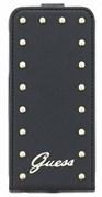 Чехол-флип Guess для iPhone 6/6s Studded Flip Black (Цвет: Чёрный)