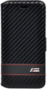 Чехол-книжка BMW для iPhone 6/6s plus M-collection Booktype Carbon Blk(Цвет: Чёрный)