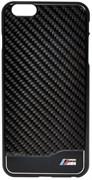 Чехол-накладка BMW для iPhone 6/6s plus Signature Hard Real Carbon (Цвет: Чёрный)