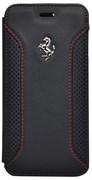 Чехол-книжка Ferrari для iPhone 6/6s F12 Booktype Black (Цвет: Чёрный)