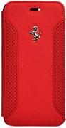 Чехол-книжка Ferrari для iPhone 6/6s F12 Booktype Red (Цвет: Красный)