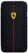 Чехол-книжка Ferrari для iPhone 6/6s Formula One Booktype Black (Цвет: Чёрный)