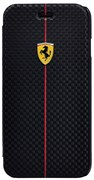 Чехол-книжка Ferrari для iPhone 6/6s plus Formula One Booktype Black (Цвет: Чёрный)