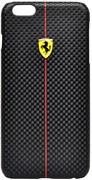Чехол-накладка Ferrari для iPhone 6/6s plus Formula One Hard Black (Цвет: Чёрный)