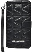 Чехол-книжка Karl Lagerfeld для iPhone 6/6s plus Kuilted Booktype Black (Цвет: Чёрный)