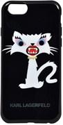 Чехол-накладка Karl Lagerfeld для iPhone 6/6s plus Monster Choupette Hard Black (Цвет: Чёрный)