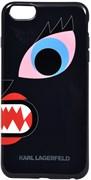 Чехол-накладка Karl Lagerfeld для iPhone 6/6s plus Monster Choupette Hard Blue (Цвет: Голубой)