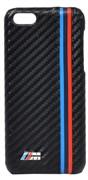 Чехол-накладка BMW для iPhone 5c M-Collection Hard Carbon effect (Цвет: Серый)