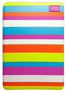 "Чехол-сумка Uniq для Macbook Air 11"" Streak cherry PU (Цвет: Разноцветный)"