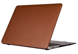 """Защитная накладка Uniq для Macbook Air 13"""" HUSK Pro TUX (Цвет: Коричневый)"""