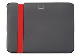 """Чехол-сумка Acme Sleeve Skinny для MacBook 12"""" (Цвет: Серый/Оранжевый)"""