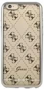Чехол-накладка Guess для iPhone 6S 4G TRANSPARENT Hard TPU Silver (Цвет: Серый)