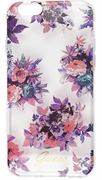 Чехол-накладка Guess для iPhone 6/6S BLOSSOM Hard TPU Transparent Flower (Дизайн: Цветы)