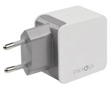 Сетевое зарядное устройство EnergEA 2 USB 3.4A (Цвет: Белый)