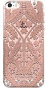 Чехол-накладка Lacroix для iPhone 5S/SE Paseo transparent Hard Rose gold (Цвет: Розовое золото)