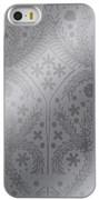 Чехол-накладка Lacroix для iPhone 5S/SE Paseo transparent Hard Silver (Цвет: Серый)