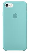 Оригинальный силиконовый чехол-накладка Apple для iPhone 7/8, цвет «синее море»  (MMX02ZM/A)