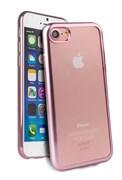 Чехол-накладка Uniq для iPhone 7/8 Glacier Frost Rose gold (Цвет: Розовое золото)