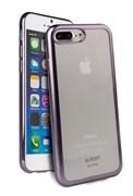 Чехол-накладка Uniq для iPhone 7 Plus/8 Plus  Glacier Frost Gunmetal (Цвет: Серый)