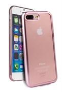 Чехол-накладка Uniq для iPhone 7 Plus/8 Plus  Glacier Frost Rose gold (Цвет: Розовое золото)