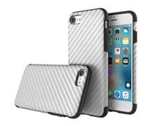 Чехол-накладка Rock Origin Series  (Textured) карбон для iPhone 7/8 (Цвет: Серый)