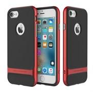 Чехол-накладка Rock Royce Series для iPhone 7 Plus/8 Plus  (Цвет: Красный)