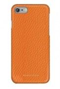 Чехол-накладка Moodz для iPhone 7/8 Floter leather Hard Agrumi, цвет «оранжевый » (MZ901018)