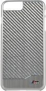 Чехол-накладка BMW для iPhone 7 Plus/8 Plus  M-Collection Aluminium&Carbon Hard, Цвет «Серебрянный » (BMHCP7LMDCS)