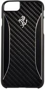 Чехол-накладка Ferrari для iPhone 7/8 GT Experience Hard Carbon-Aluminium , Цвет «Черный» (FERCHCP7BK)