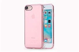 Чехол-накладка Rock Pure Series для Apple iPhone 7/8 (Цвет: Прозрачно-розовый)