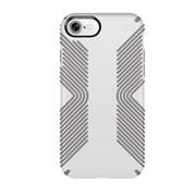 """Чехол-накладка Speck Presidio Grip для iPhone 7, цвет """"белый/серый"""" (79987-5728)"""
