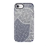 "Чехол-накладка Speck Presidio Inked для iPhone 7, дизайн ""Shibori Tile Blue Matte/Marine Blue"" (79990-5757)"